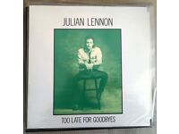 Original Julian Lennon Pressings from my collection.