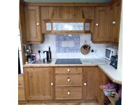 Pine kitchen doors and drawers