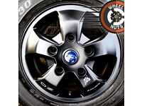"""16"""" Genuine Ford Transit Custom alloys OZ Racing M Sport decal perf cond good tyres."""
