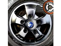 "16"" Genuine Ford Transit Custom alloys OZ Racing M Sport decal perf cond good tyres."