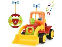 Remote Control Toddlers / Kids Construction Vehicle Car Digger with Music and Light (NEW in Box)