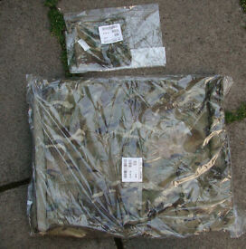 Brand new (in packet) British Army Issue MTP BASHA / Shelter + Stuff Sack