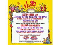 V Festival 2016 Ticket x1