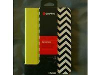 Griffin Zig Zag Folio Designer Case Cover With Stand For iPad Mini 3/2/1 Yellow