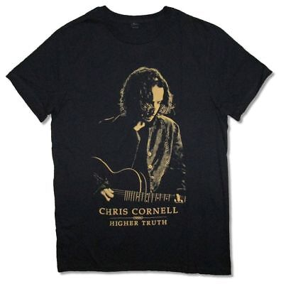 Chris Cornell Higher Truth Black T Shirt New Official Merch Nos