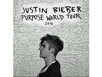 1x Justin Bieber STANDING ticket SSE Hydro 29th October