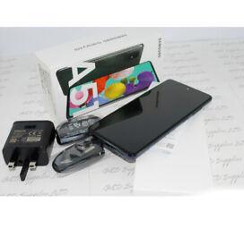 Samsung A51 128GB Prism Crush black 6GB RAM Dual Sim UNLOCKED BOXED