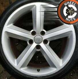 "18"" Genuine Audi TT S Line alloys good cond excel tyres."