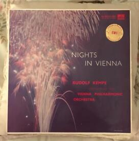 Nights in Vienna. Kempe Vienna Philharmonic. HMV ASD. 279 RARE LP