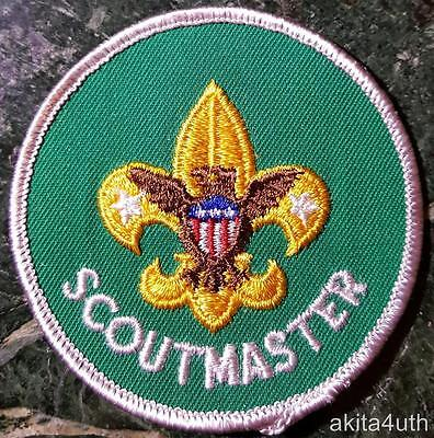 """Boy Scout """"Scoutmaster"""" Position MINT - Early 70's BSA"""