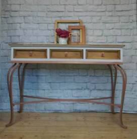 Vintage console table, hallway table