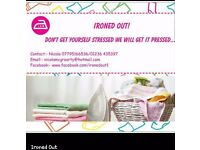 Professional local ironing service............IRONED Out