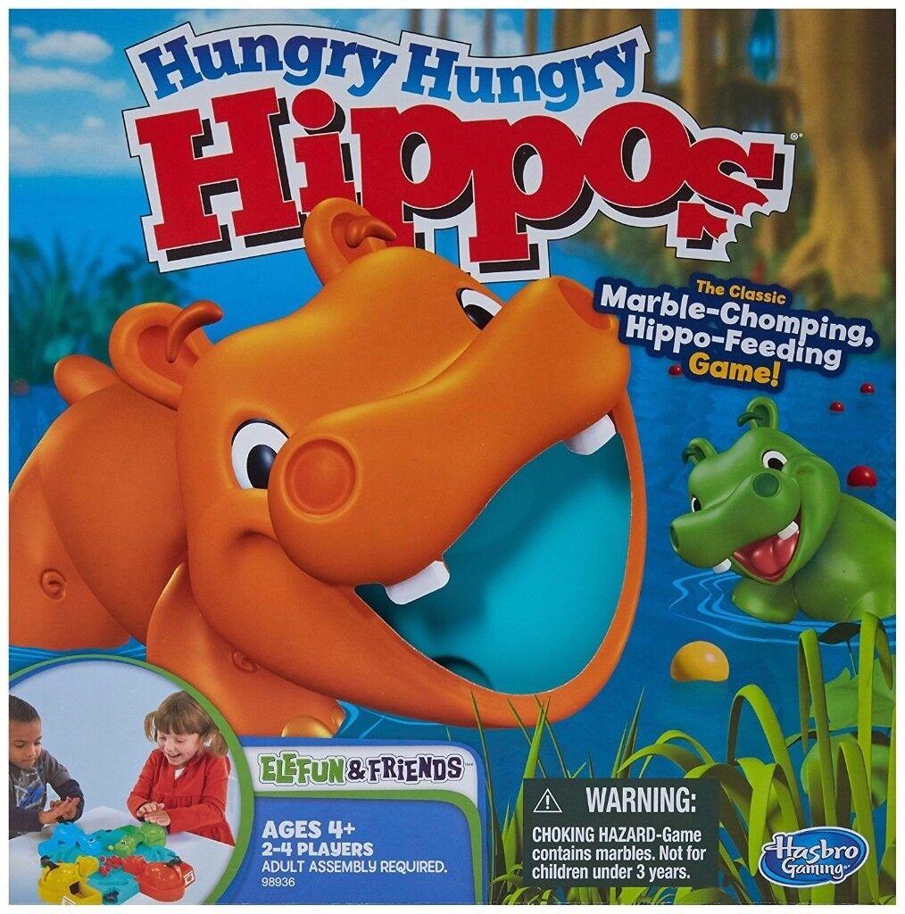 Hungry Hungry Hippos and Jitterbugs toys bundle