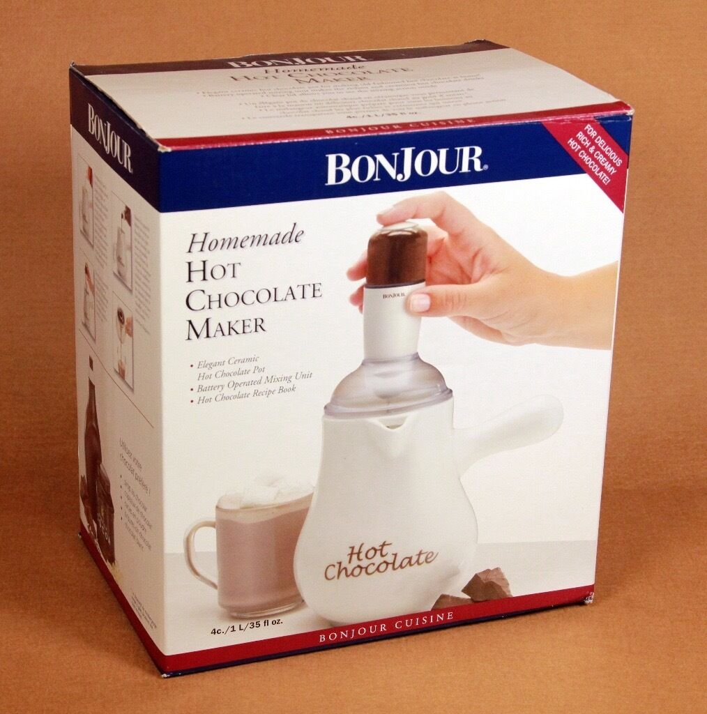 BonJour Hot Chocolate Maker, Boxed, as new, unused Christmas gift ...
