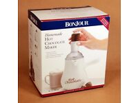 BonJour Hot Chocolate Maker, Boxed, as new, unused Christmas gift for hot chocolate lovers