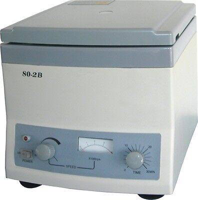 Centrifuge 80-2b Medical Laboratory 110v 4000 Rmin 12x20ml Centrifuge
