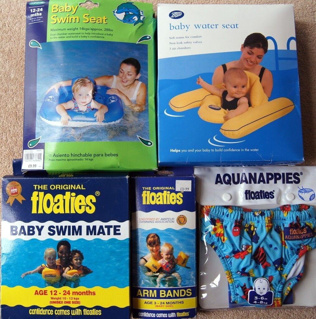 Baby Swim Accessories Bundle: Baby Water Seat, Baby Swim Seat ...