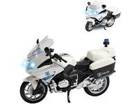 Toy Police Motorbike / Motorcycle Friction Light & Sound (NEW)
