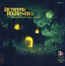 BETRAYAL AT HOUSE ON THE HILL (BRAND NEW UNOPENED BOARD GAME)