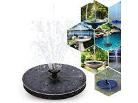 Solar fountain pump 2.4W For Garden Beautification