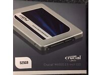 NEW CRUCIAL MX300 525Gb SSD Laptop Drive installed with MAC OS BUNDLE