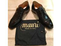 EXCLUSIVE MENS MAURI FORMAL DESIGNER CROCODILE LEATHER SHOES - £550 ONO