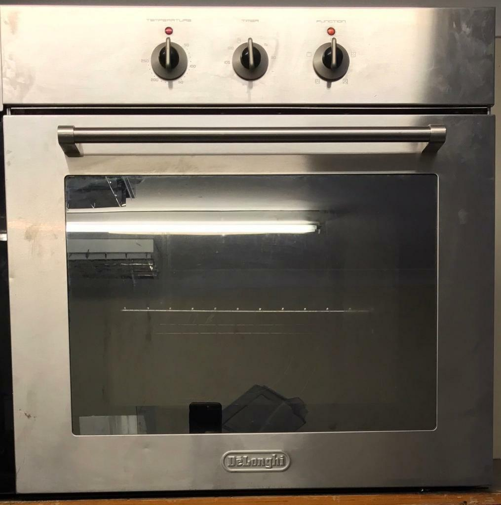 Delonghi oven with grill oven stainless steel neat and clean for sale