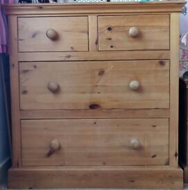 Waxed Pine Bedroom Furniture SET (Hand Made)