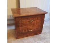 MUST GO TODAY - Potential Upcycle/Restoration Item - Italian Small 2-Drawers 53 x 40 x 46cm