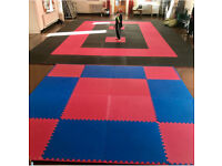 36 x 20mm Jigsaw Mats 1m2 Best UK Prices, FREE 24hr Delivery, For Taekwondo, Kickboxing, Karate, MMA