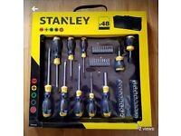 Stanley 48pc sctewdriver set