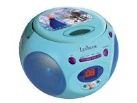 Frozen Disney official CD and radio player with free DVD