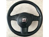 Seat Leon MK2 Stylance TSI Steering Wheels WITH AIRBAG INCLUDED - Not FR Cupra - Fits ALL