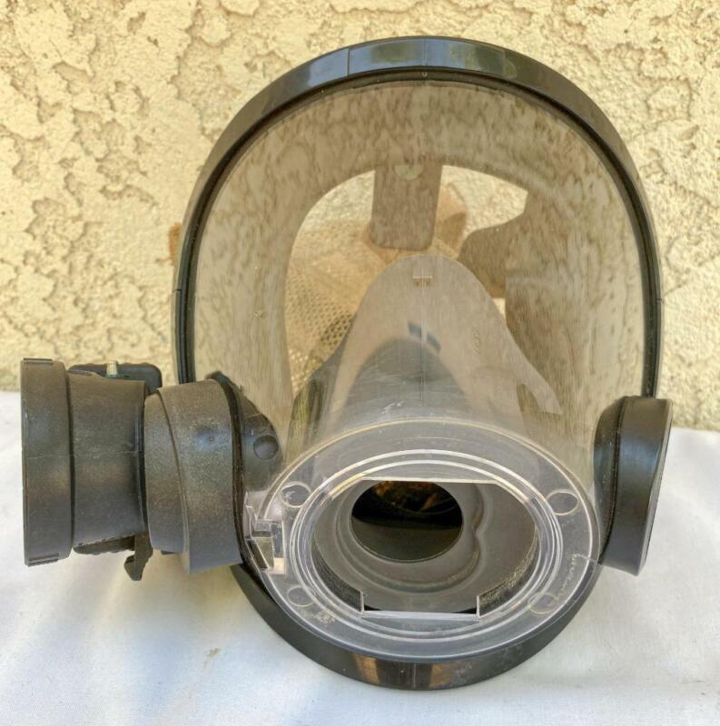 Scott SCBA AV3000 Facepiece Mask Small w/ Voice Amplifier