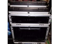 Gator portable 2U and 6U rack cases