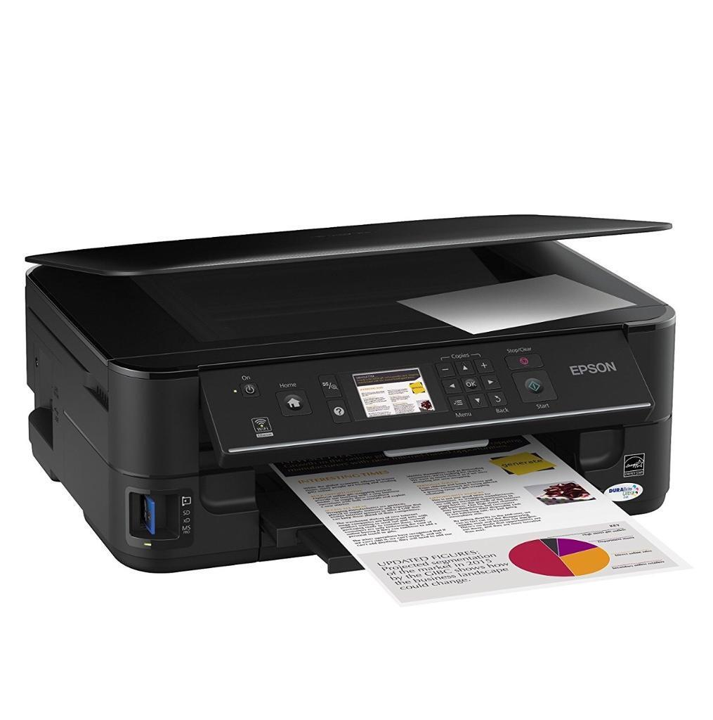EPSON Stylus Printer & Scanner BX525WD with INKS included