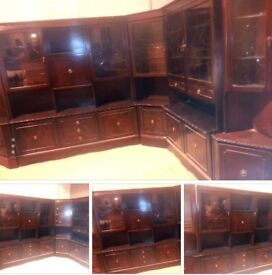 LARGE DISPLAY CABINET WITH LIGHT