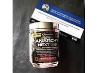 MuscleTech Anarchy 30 servings. Very powerful pre-workout, ultra-extreme energy and focus!Recommend!