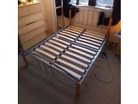 Double 4FT6 Metal Bed frame