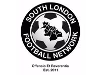 GET FIT, LOSE WEIGHT, MAKE NEW FRIENDS, PLAY FOOTBALL, JOIN SOUTH LONDON FOOTBALL NEWORK, S32w