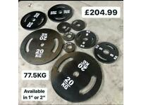 OlYMPIC WEIGHTS SET 77.5KG 204.99