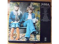 ABBA 'Greatest Hits' stereo LP 1976. Inc Mamma Mia; Honey Honey; Waterloo; Fernando; etc. £5 ovno.