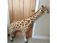 Tall Plush Giraffe by Melissa and Doug