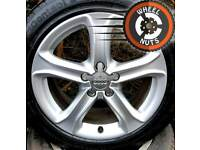 """17"""" Genuine Audi A4 Techniks alloys perfect cond match tyres."""