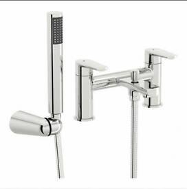 Langdale bath shower mixer tap & basin mixer tap both new/unused