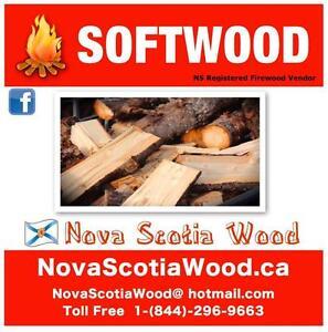 Softwood  Firewood  NovaScotiaWood.ca    Call toll free: 1-844-296-WOOD (9663)