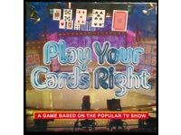 ITV 'Play Your Cards Right' TV Quiz Game (new)