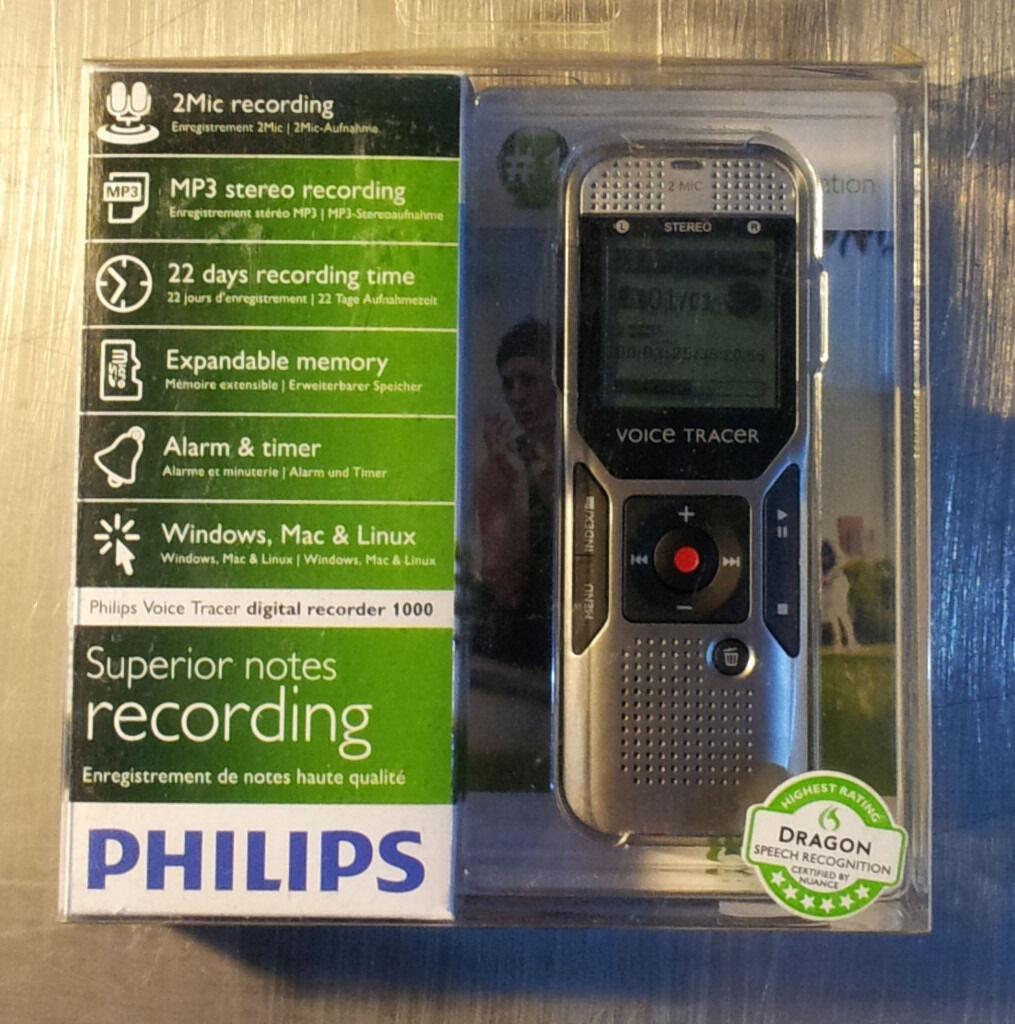 Philips Voice Trace DVT1000