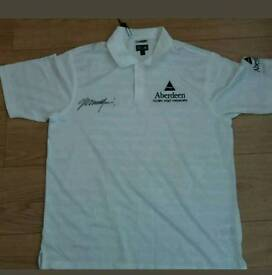 Colin Montgomerie signed Golf polo shirt