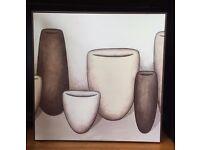The Vessels III by Jaci Hogan - Laminate Pot Canvas Print